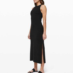 EUC Lululemon Get Going Dress 6 Black